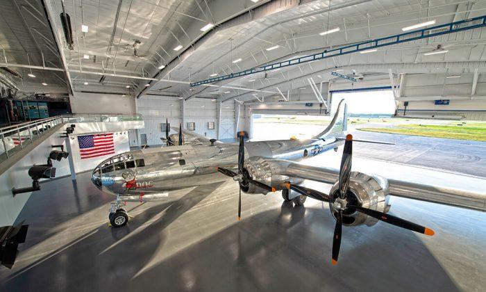 B-29 Doc Hangar, Education and Visitors Center